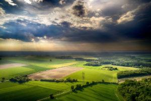 L'Eure vue du ciel ( prise de vue aérienne par drone )