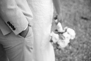 Photo de mariage, le bouquet de fleurs.