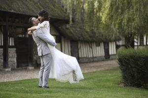 Photo de mariage, les mariés.